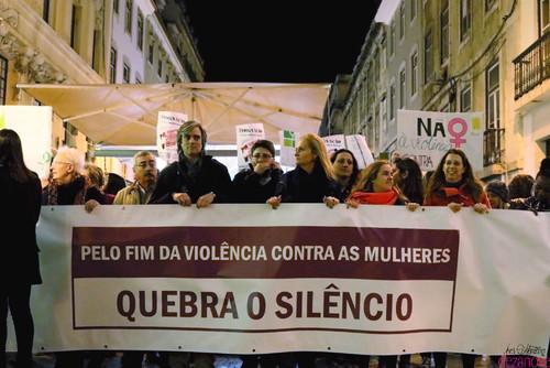 Marcha Fim Violência Contra Mulheres Lisboa
