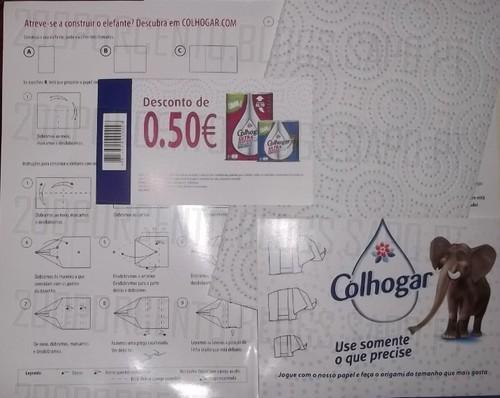 Vale 0,50€ em Papel Collogar Ultra Resistant