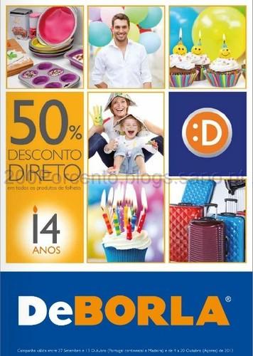 50% no Novo Folheto De Borla - 14 Anos - De 27 Setembro a 13 Outubro
