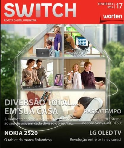 Nova revista e passatempo | WORTEN | Switch de fevereiro