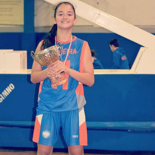Beatriz Vieira campea Distrital Sub16 F 2015-2016.