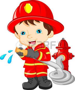 40940634-menino-vestindo-bombeiro-dos-desenhos-ani