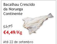 Bacalhau Crescido Noruega