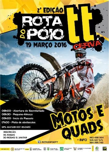 Vila de Cerva - Rota do Póio TT - 2016