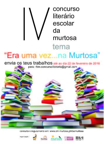 IV_concurso literário_2015_2016-cartaz RB Murtos