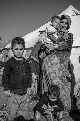 iraque, 2014, erbil,campo de refugisdos sírios e