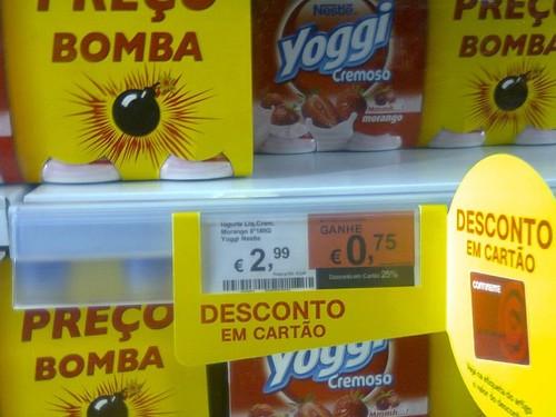 Acumulação   CONTINENTE   Iogurtes