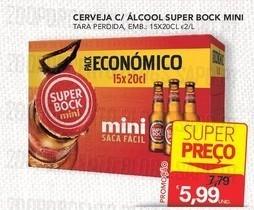 Acumulações Super-Preço+25%, Super-Bock | CONTINENTE | , apenas dia 21 Outubro
