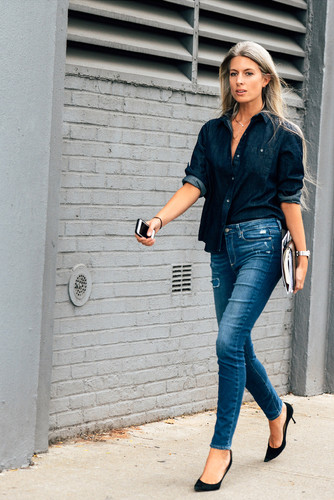 navy-denim-shirt-blue-ripped-skinny-jeans-black-su