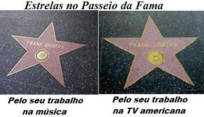 Frank Sinatra - estrelas passeio da fama