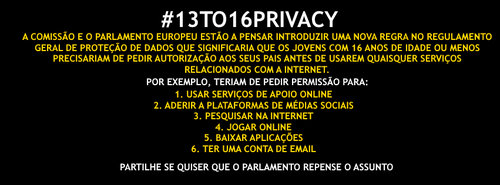 #13TO16PRIVACY