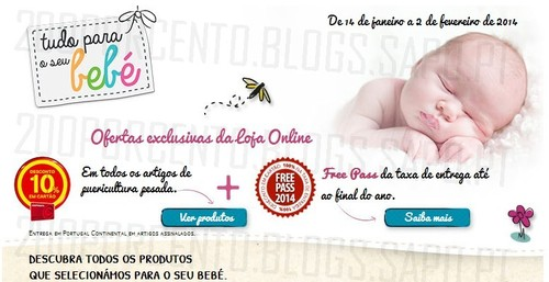 10% desconto + Free Pass 2014 | CONTINENTE | Online