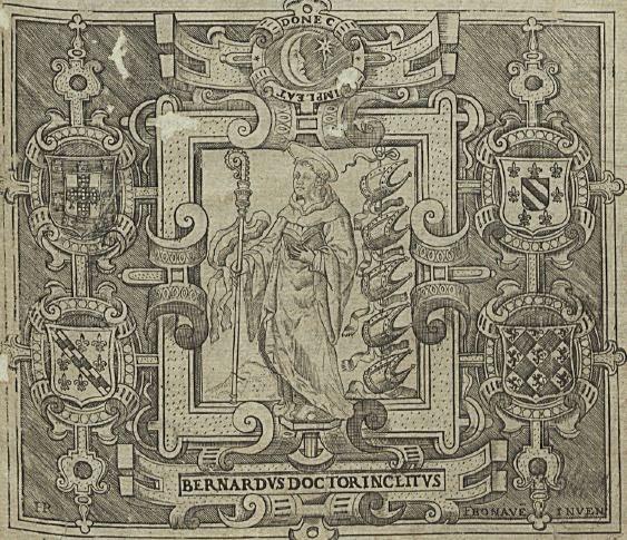 São Bernardo, no frontispício da Primeira Parte