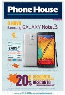 Catálogo GSM   outubro 2013, Campanha válida de 4 a 30 de outubro de 2013