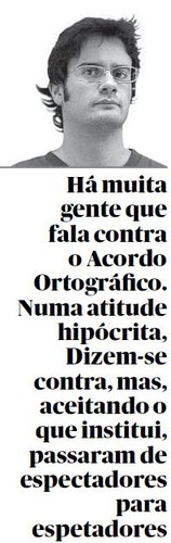 José Diogo Quintela contra o acordo ortográfico