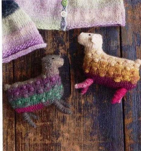ovelhas de trico para bebes