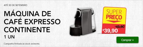 Maquina Café continente 39,90€