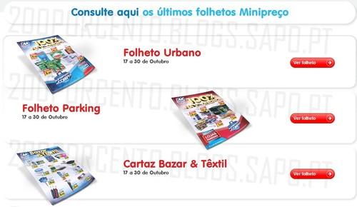 Novos Folhetos | MINI PREÇO | Já Online, de 17 a 30 Outubro