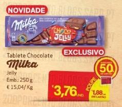 Acumulação 75% desconto | CONTINENTE | Chocolate Milka