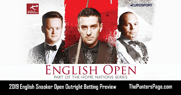 2019-English-Snooker-Open-Outright-Betting-Preview