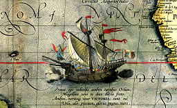 Detail_from_a_map_of_Ortelius_-_Magellan's_ship_Vi