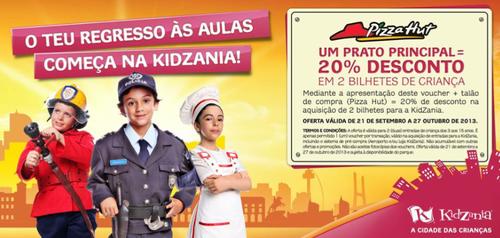 Campanha Kidzania - PizzaHut