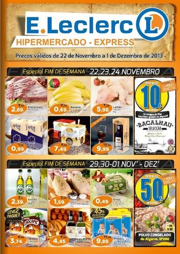 Antevisão Folheto | E-LECLERC | Hipermercado / Express Chaves