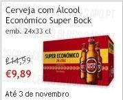 Super Preço | CONTINENTE | Super-Bock, até 3 novembro