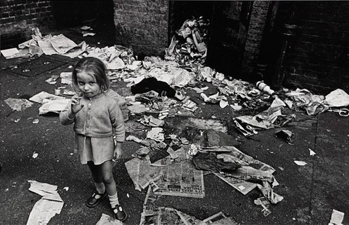 Nick Hedges The rubbish surrounding the basement f