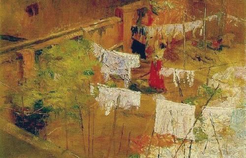 Eliseu d'Angelo Visconti, Estendendo Roupa, c. 194