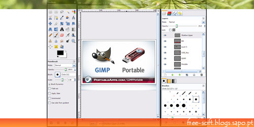 GIMP portable - melhor alternativa ao Photoshop
