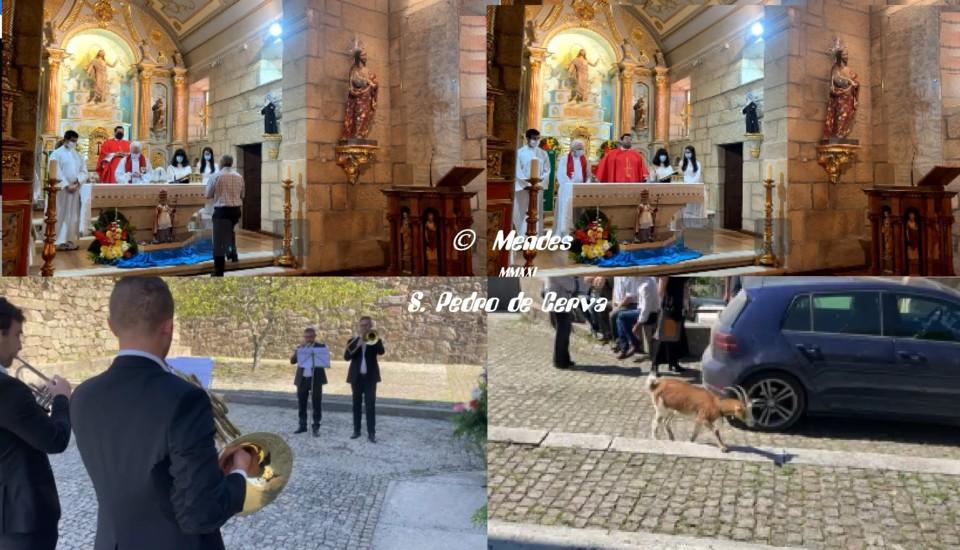 Celebração do São Pedro da Vila de Cerva - 29/06/2021.