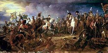 Batalha de Austerlitz no romance Gierre e Paz