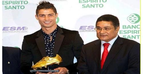Eusébio, futebol,política, Ronaldo, nacional, bota de ouro