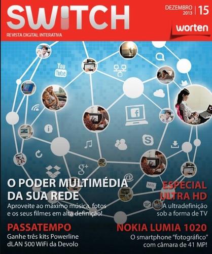 Nova revista   SWITCH   da worten - dezembro