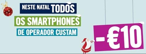 Desconto de 10€ smartphones | PHONE HOUSE | até 24 dezembro