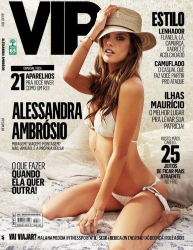Alessandra Ambrósio capa