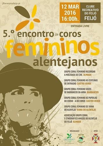 Encontro de Coros Femininos Alentejanos 2016 - Amigos do Alentejo do Feijó