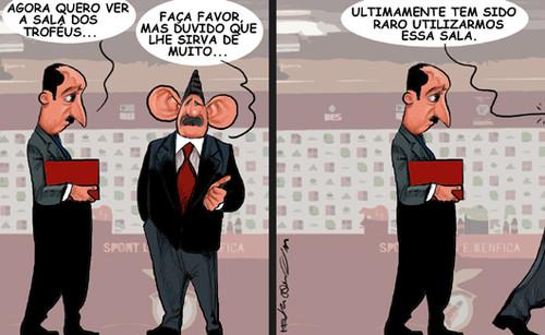 Buscas no Benfica