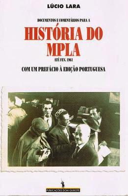 Angola - Capa do livro 'HIST_RIA DO MPLA', de l_ci