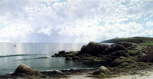 Alfred Thompson Bricher - Low Tide at Swallow Tail
