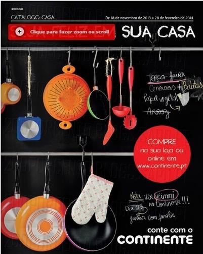 Novo Folheto | CONTINENTE | Catalogo Casa, de 18 novembro a 28 de fevereiro 2014