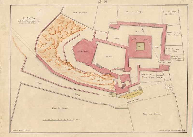 Planta do Castelo. Elsden, 1773.jpg