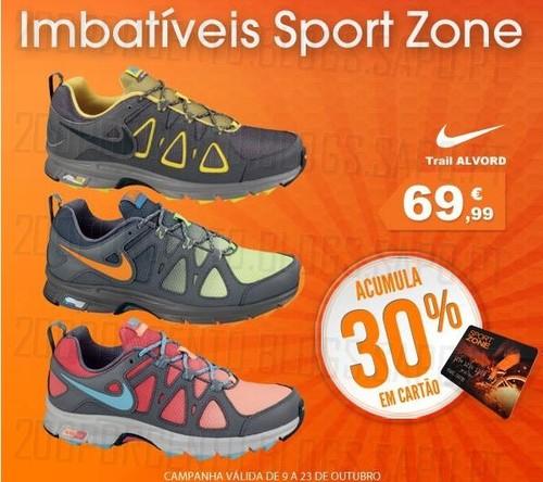 Promoções Sport Zone até 30% desconto