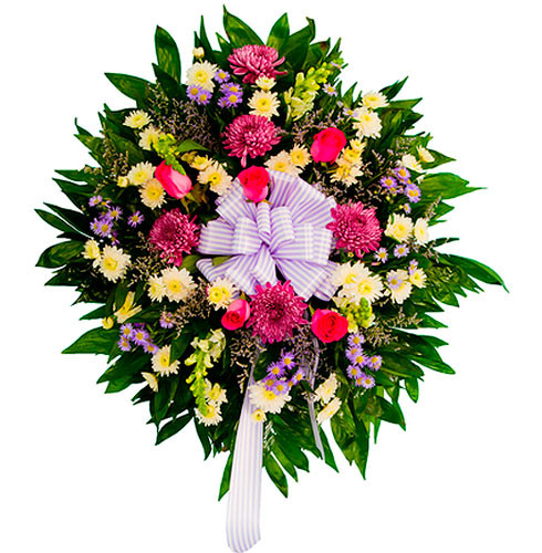 Coroa de Flores Anjo