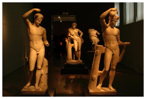 Sátiros (Praxíteles), Museu Arqueológico de Atenas, 2007.