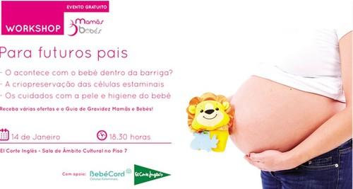 Workshop gratuito | EL CORTE INGLÊS | Mamãs e Bebés
