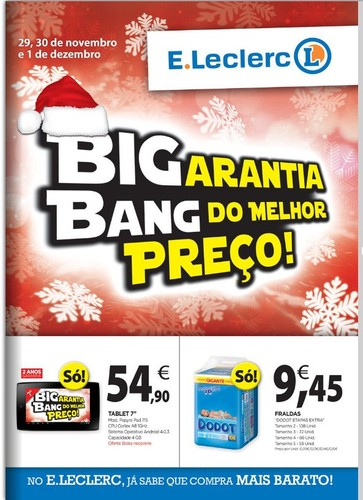 Novo Folheto | E-LECLERC | Big Bang