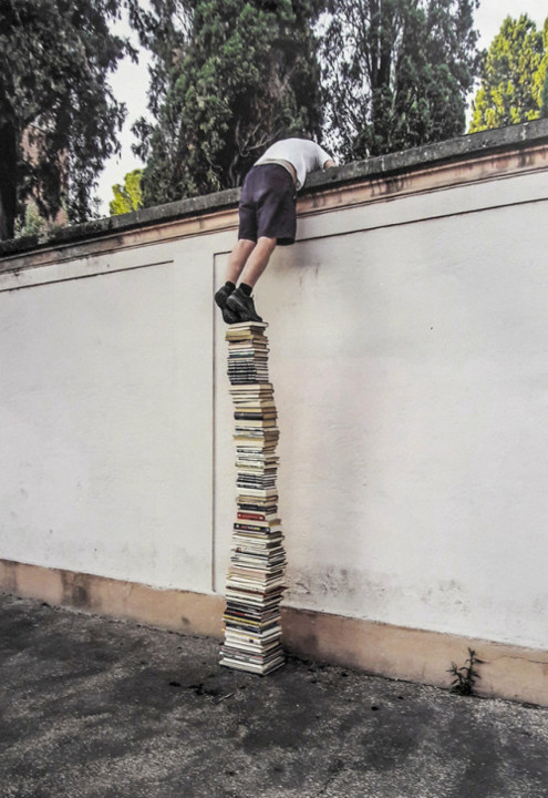 The Use of Books, Matthias Hübner and Brad Downey