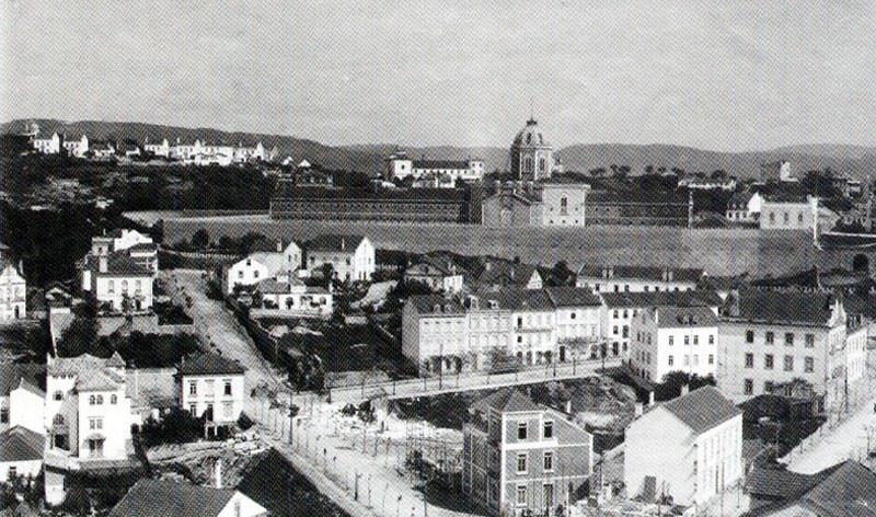 Fig. 44. Penitenciária e Bairro de Santa Cruz. 19